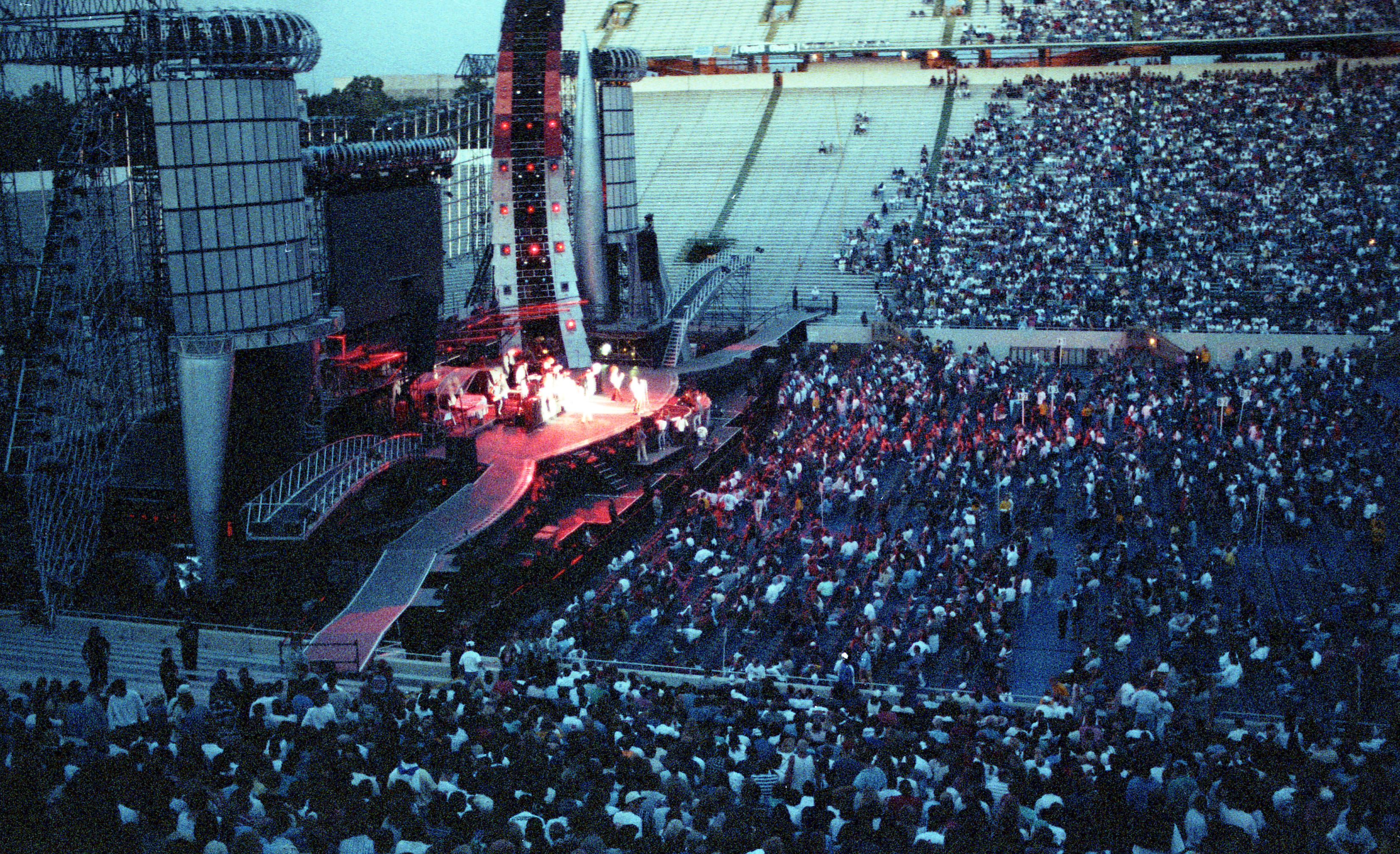 Rolling Stones Stage At Spartan Stadium TitleRolling