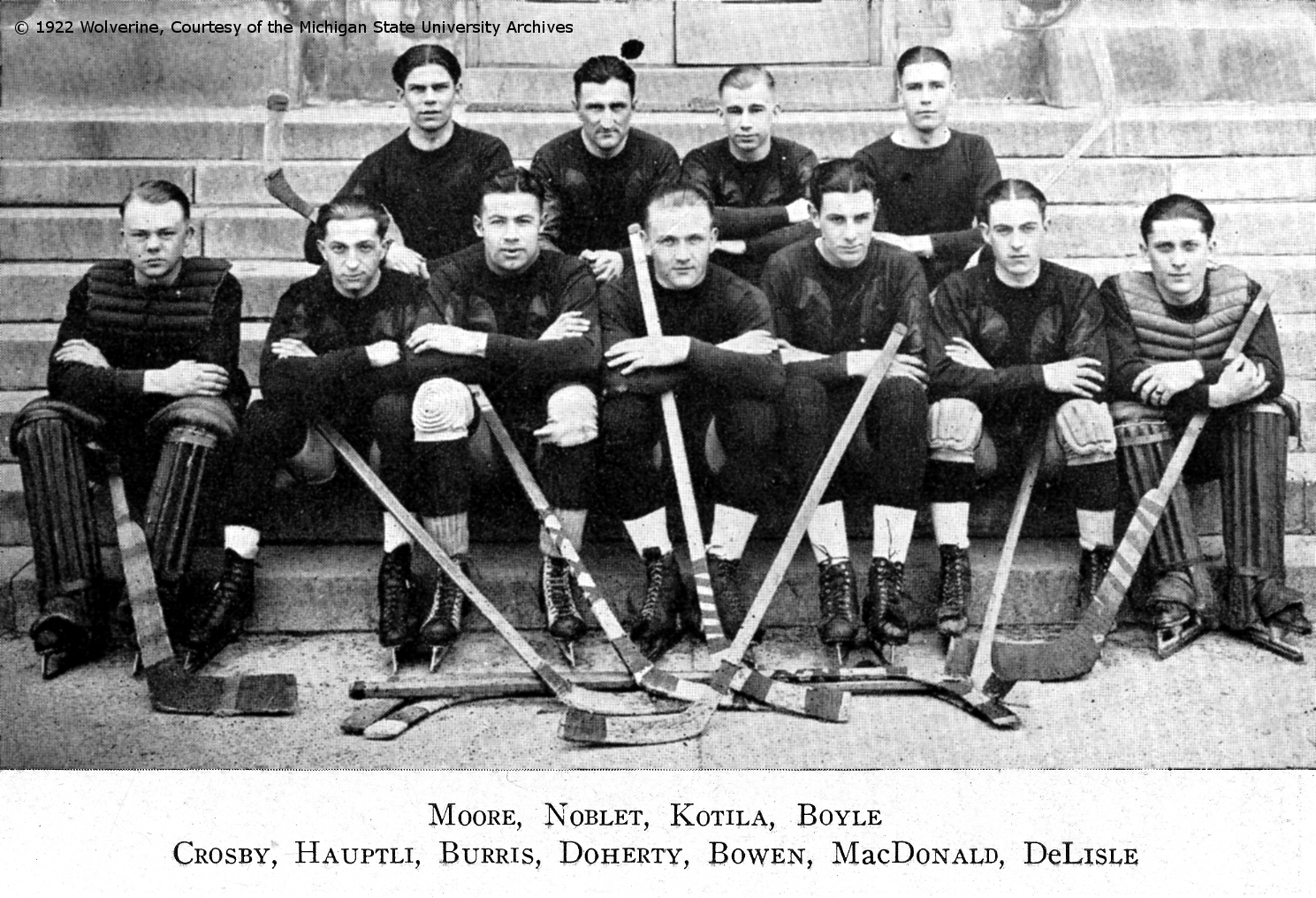 the origin of hockey The nhl hockey history actually begins with the nha's beginning in 1910 based in canada the eastern canada hockey association dated back from 1906 and from the first recognized hockey league called the ahac (amateur hockey association of canada).