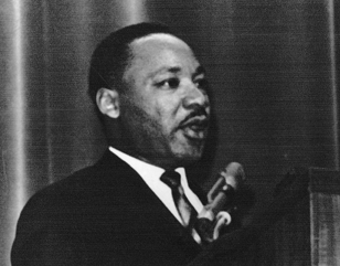 On The Banks Of The Red Cedar Martin Luther King Jr Gives A Speech