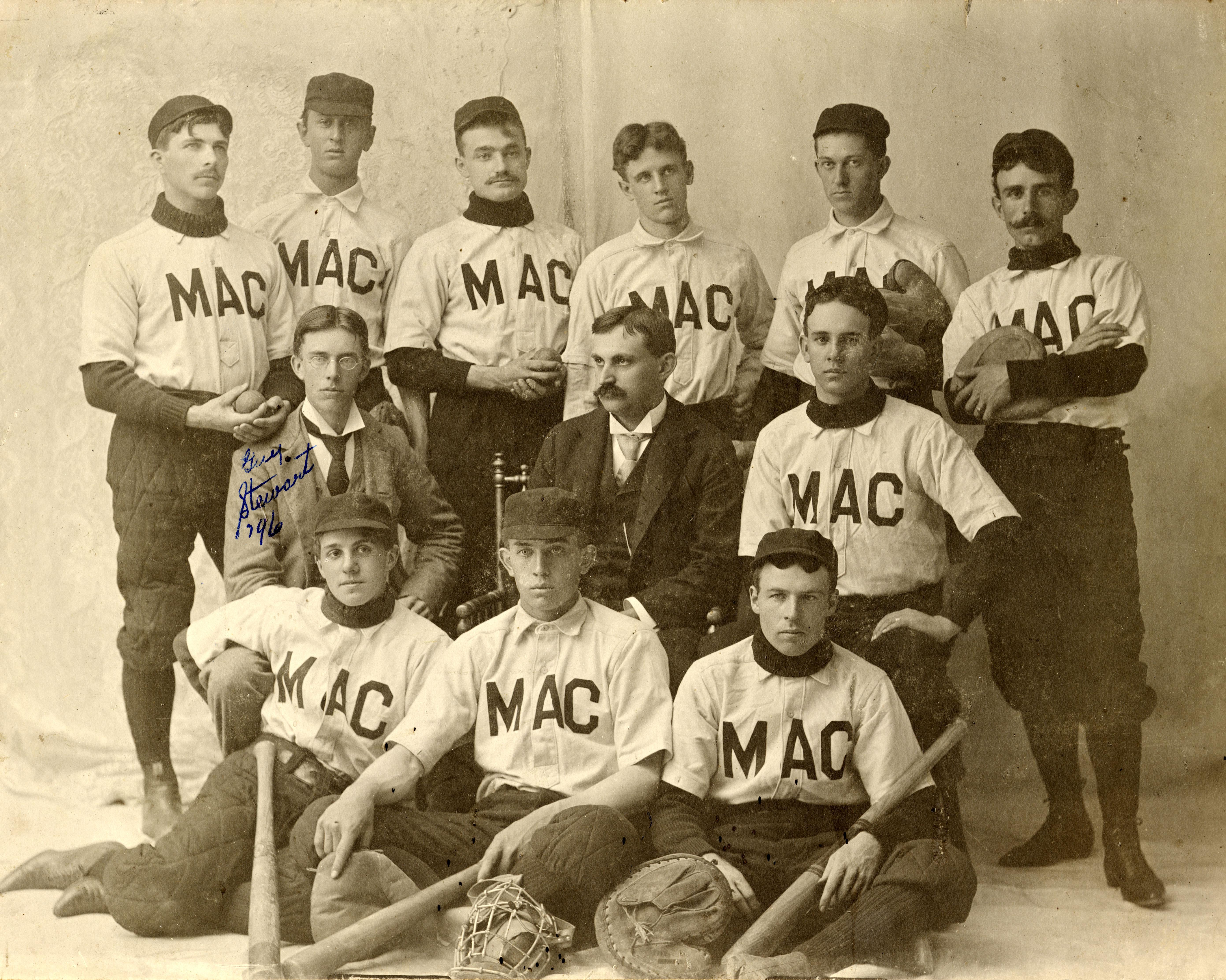1895 Varsity Baseball Team
