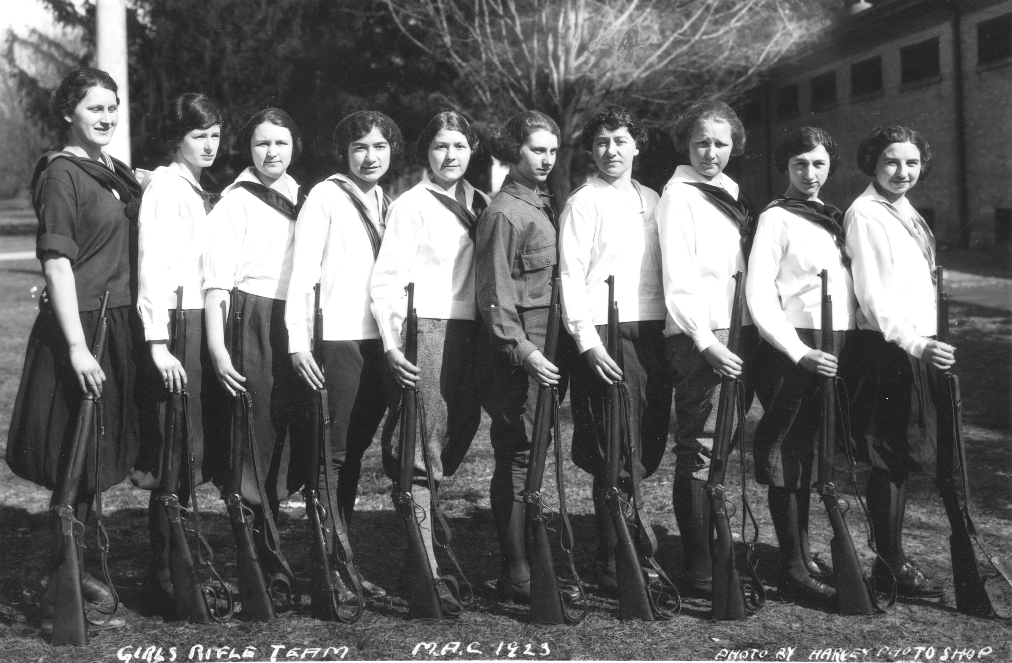 Women's Rifle Team, 1923