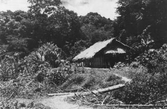 Vietnam. Buildings. Kim Long Vietminh Headquarters. 1945.