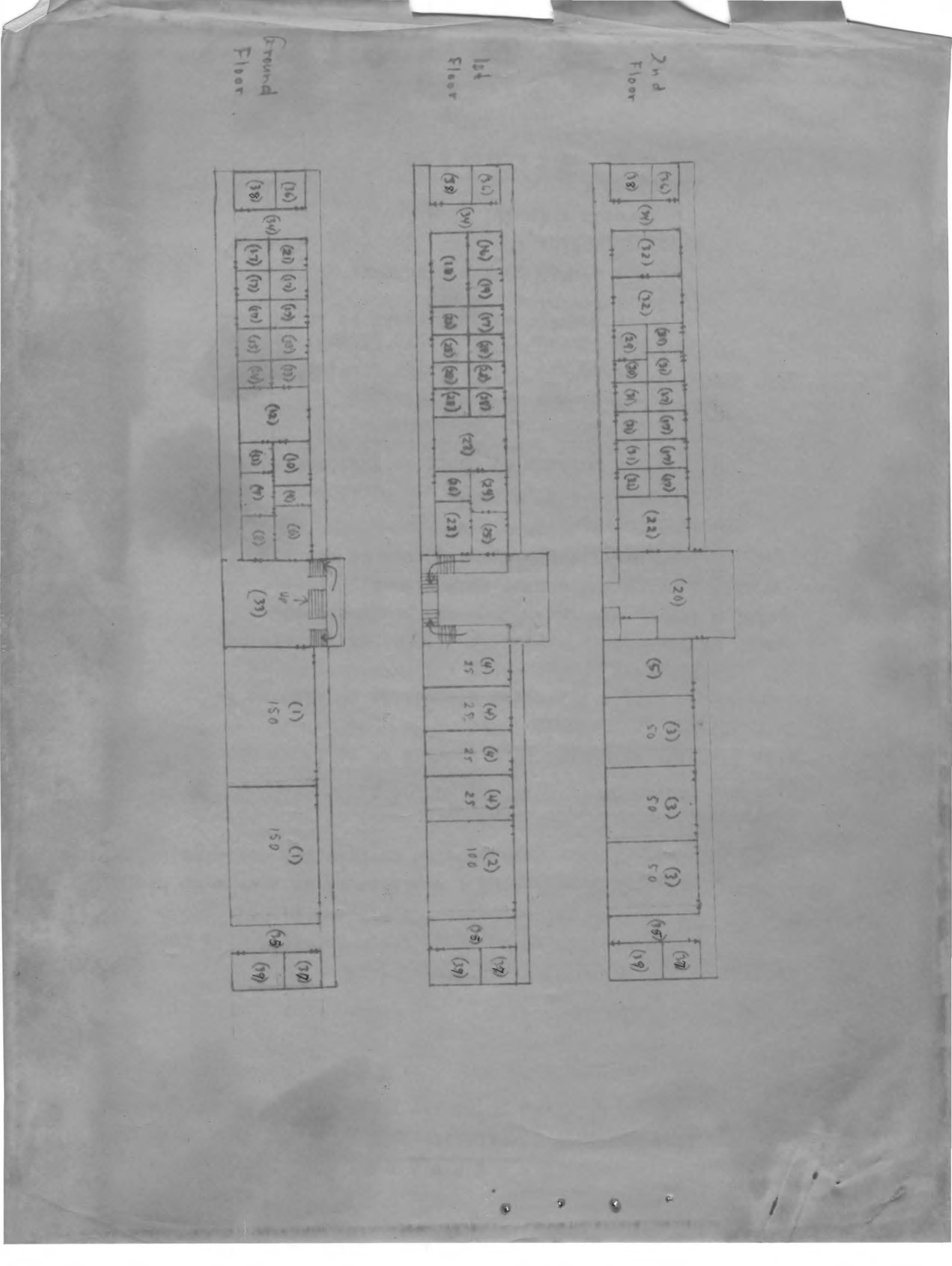 Construction, Blueprints, Preliminary, undated